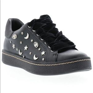 Sbicca Black Studded Sneakers